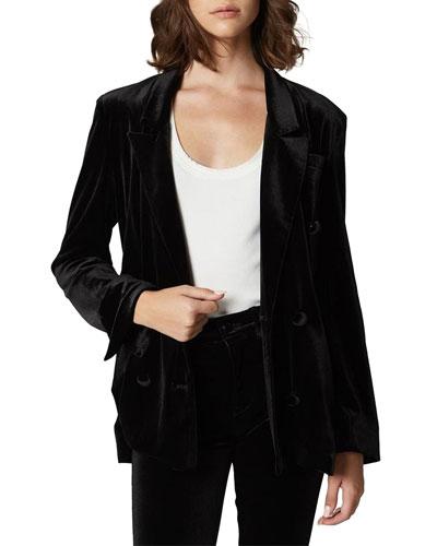The Grand Dame Velvet Blazer Jacket