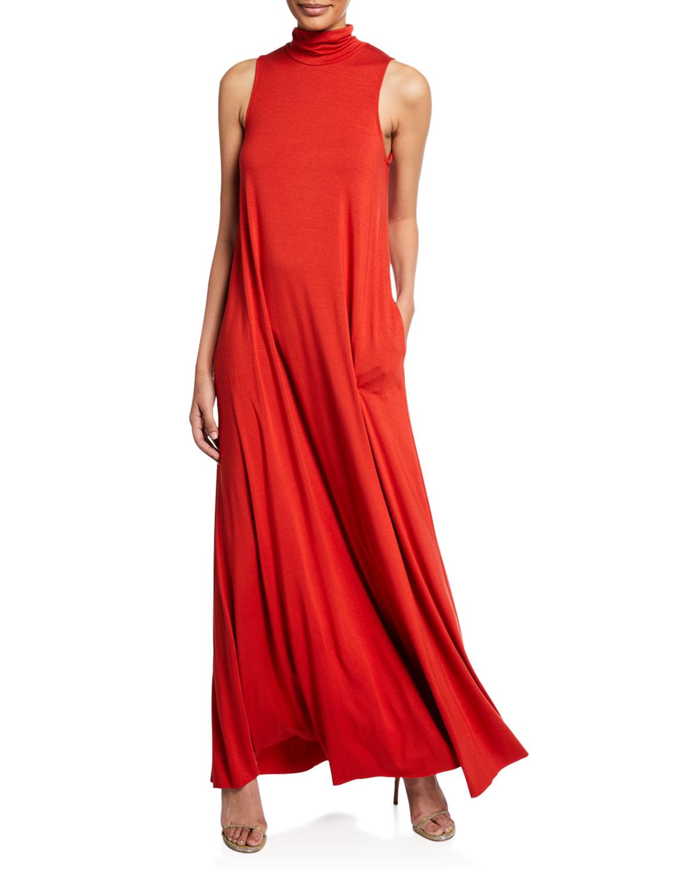 RACHEL PALLY Cait Turtleneck Maxi Dress, Plus Size in Poppy