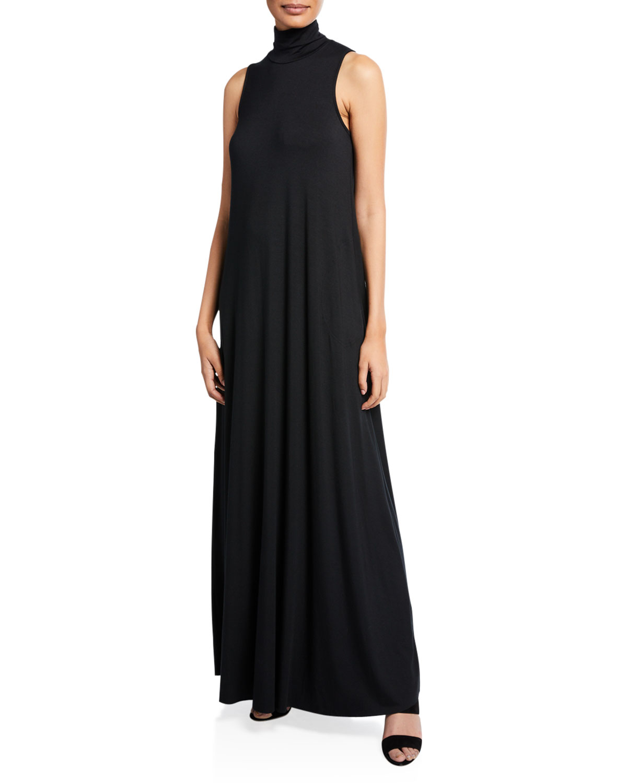 RACHEL PALLY Cait Turtleneck Maxi Dress in Black