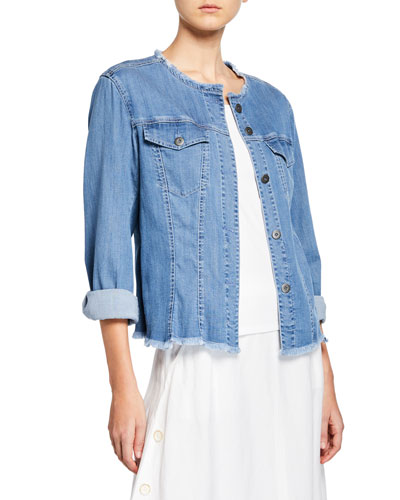 Plus Size Ease of Mind Denim Jacket