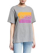 Opening Ceremony Unisex Cotton T-Shirt with Ombre OC