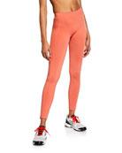 adidas by Stella McCartney Seamless High-Rise Running Tights