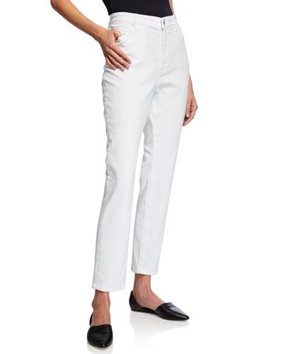 Plus Size Organic Cotton Stretch High-Waist Skinny Jeans