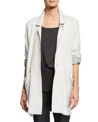 Eileen Fisher Missy Textured Boxy Jacket and Matching