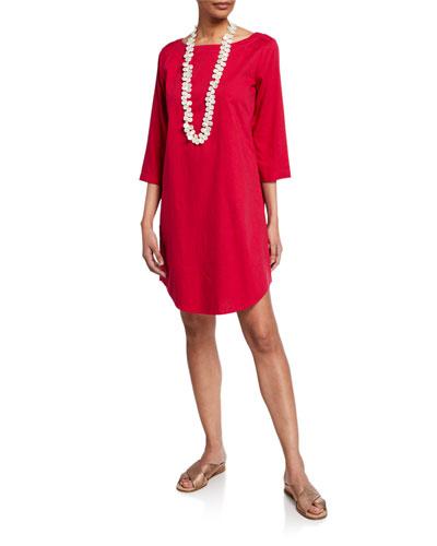 bcaab9223fd Eileen Fisher Scoop Neckline Dress