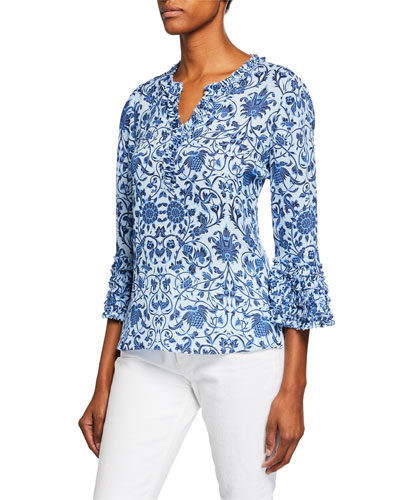 cabc278089f0 Quick Look. Kobi Halperin · Candice Patterned Silk Blouse