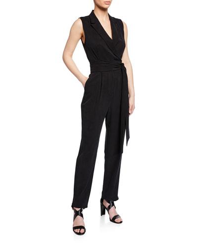 ec40db33f96f Black Tie Waist Jumpsuit