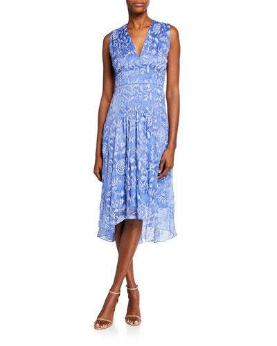 85f77907ba8 Quick Look. Elie Tahari · Celeste V-Neck Sleeveless High-Low Dress
