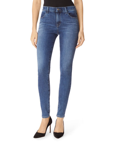 Maria High-Waist Skinny Jeans, Polaris