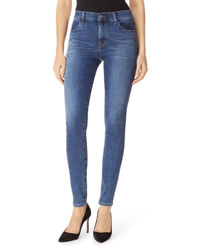 Maria High-Waist Skinny Jeans, Polaris