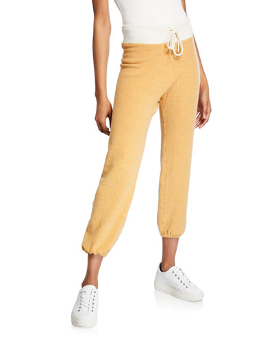 The Warm Up Drawstring Ankle Sweatpants