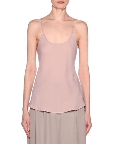 90a0c93591 Quick Look. Giorgio Armani · Silk Georgette Camisole Top