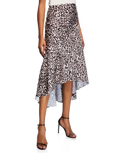 50027c1f7ada Quick Look. Shona Joy · Isabella Leopard-Print Midi Skirt