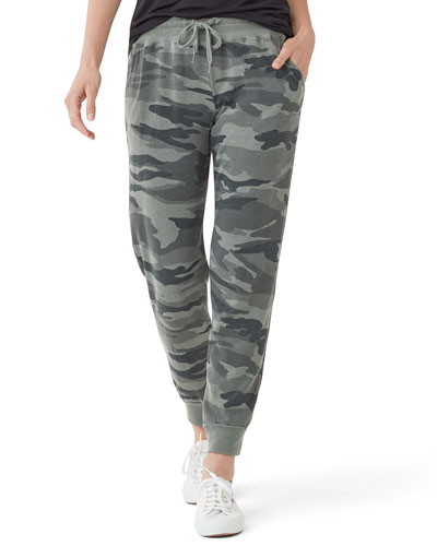 Essential Active Field Camo Jogger Sweatpants
