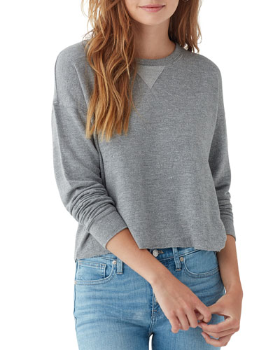 Essential Active Marathon Heathered Sweatshirt