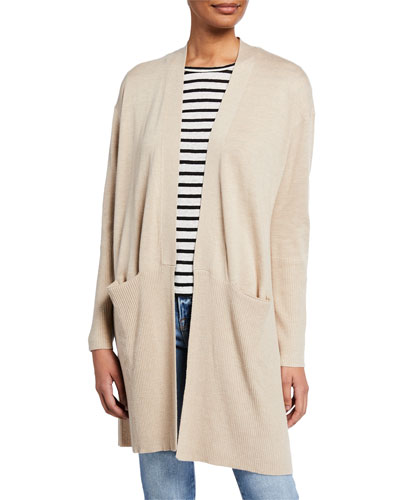 Retreat Open-Front Cardigan