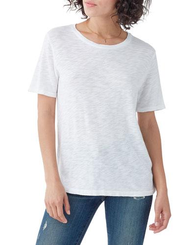 Zoe Crewneck Short-Sleeve T-Shirt