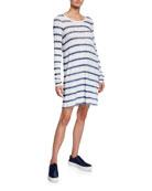 ATM Anthony Thomas Melillo Watermark Stripe Long-Sleeve Slub