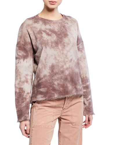 Tie-Dye French-Terry Sweatshirt