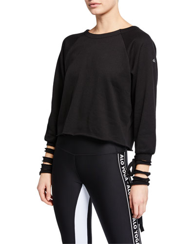 9462381c868 Quick Look. Alo Yoga · Tribe Long-Sleeve Top ...
