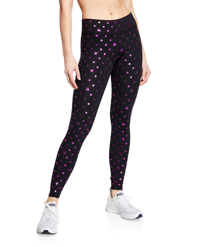 ae35e0aec4 Quick Look. Terez · Foil Mickey Mouse® Printed Tall Band Leggings