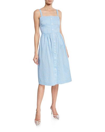 a46a1c6513 Square Neckline Cotton Dress