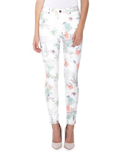 Ava Tropics Skinny Jeans