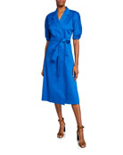 Equipment Anitone Short-Sleeve Wrap Dress