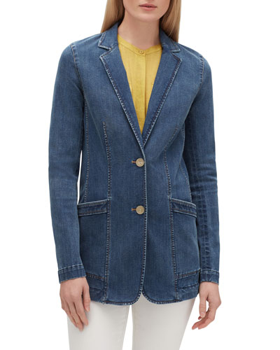 Boston Prestige Denim Two-Button Jacket