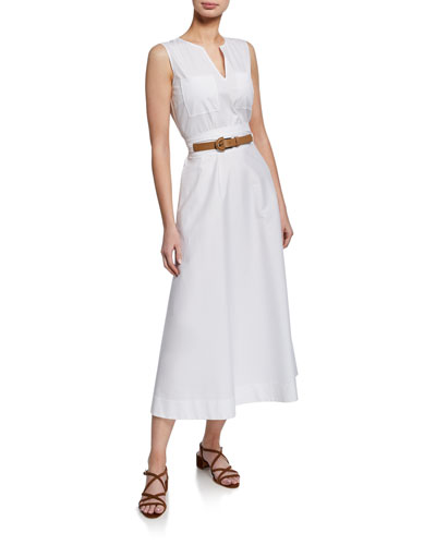 237549d70 White Cotton Midi Dress | Neiman Marcus