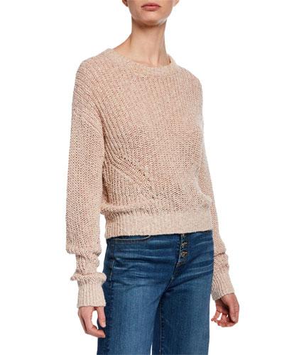 Leah Crewneck Pullover Sweater