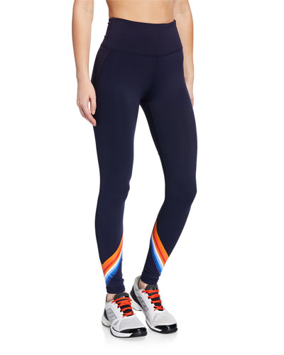 High-Rise Tempo Chevron 7/8 Leggings
