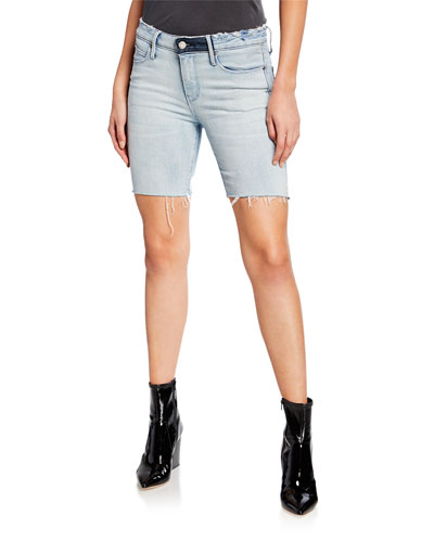 Toure Cutoff Denim Shorts