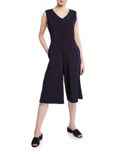 3b3510fd1b39 Fitted Cotton Spandex Jumpsuit