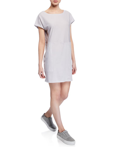 a84ae8c4784 Quick Look. Eileen Fisher · Plus Size Ministripe Tunic Dress ...