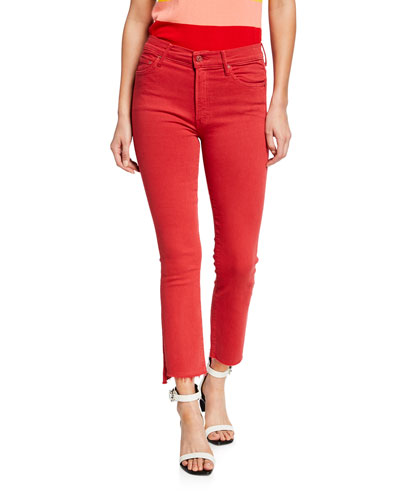 The Insider Crop Step Fray Skinny Jeans