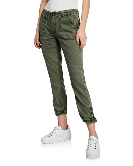 PAIGE Mayslie Cropped Jogger Pants