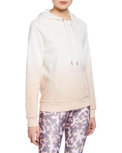 Dip-Dye Active Pullover Hoodie