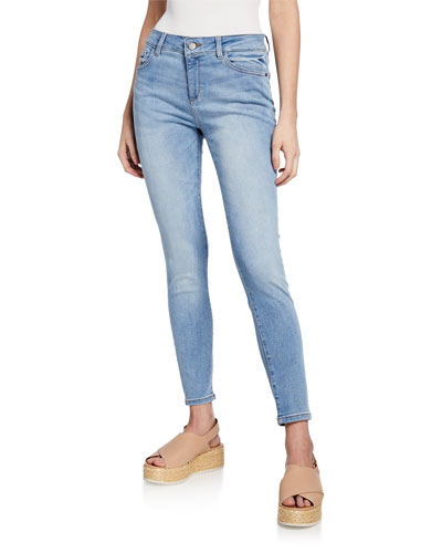 Florence Mid-Rise Ankle Skinny Jeans