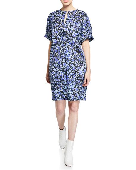Christian Wijnants Diri Floral Mini Dress
