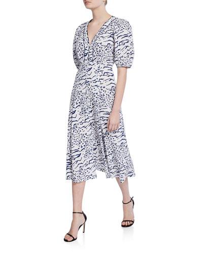 742a409c11dd Printed Spandex Dress