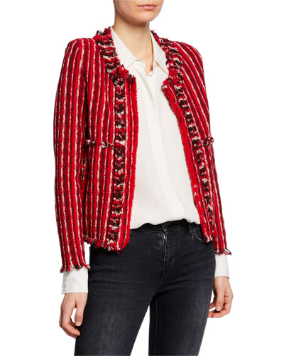 Inland Open-Front Tweed Jacket