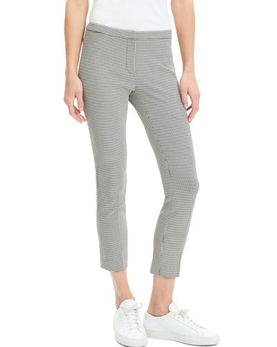 Classic Skinny Houndstooth Pants