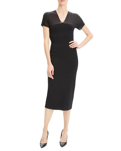 92279bd4 Theory Black Dress | Neiman Marcus