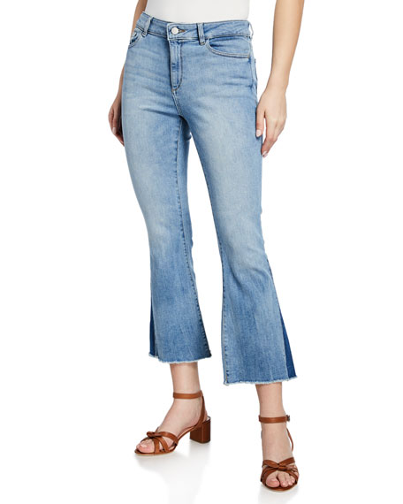 DL1961 Premium Denim Bridget Mid-Rise Instasculpt Boot-Cut Jeans