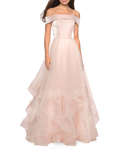 2bbc8c50 Pink Tulle Gown | Neiman Marcus