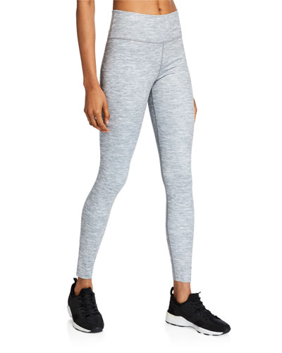One Luxe Heathered Performance Tights