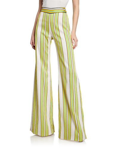Tarik Striped Flare Pants