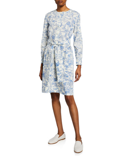 99e35d420b Cotton Belt Shirt Dress