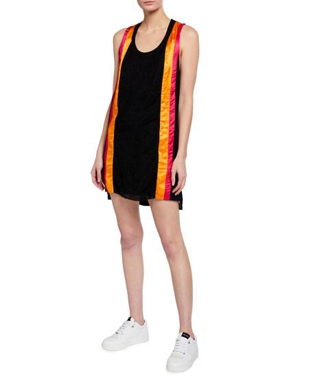 No Ka Oi Ka Paa Paneled Racerback Short Dress